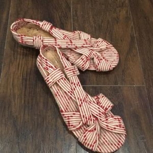 Lucky Penny size 7 sandals
